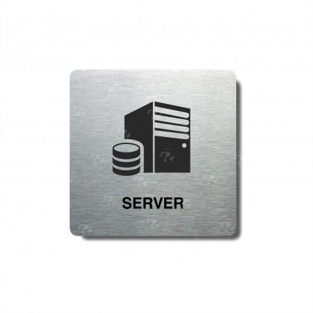"""Piktogram (80x80mm) """"Server"""""""