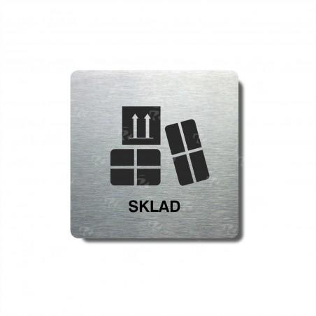 """Piktogram (80x80mm) """"Sklad"""""""