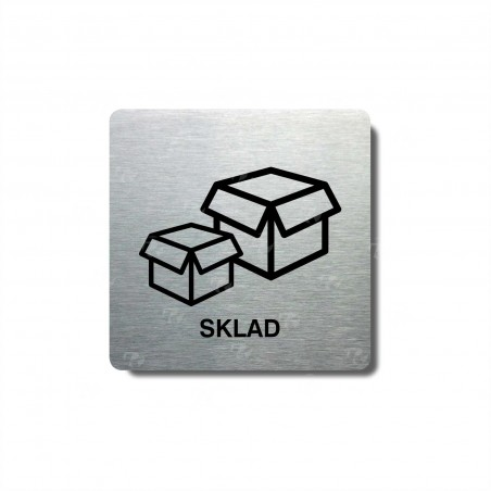 "Piktogram (80x80mm) ""Sklad I."""