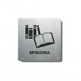 "Piktogram (80x80mm) ""Spisovna"""
