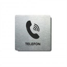 "Piktogram (80x80mm) ""Telefon"""