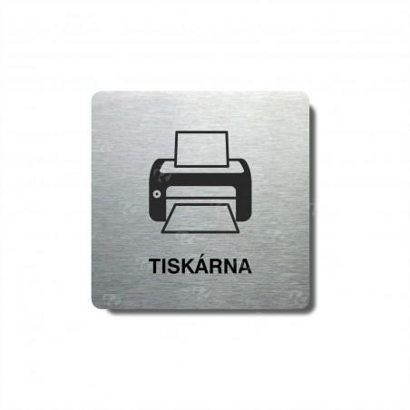 "Piktogram (80x80mm) ""Tiskárna"""