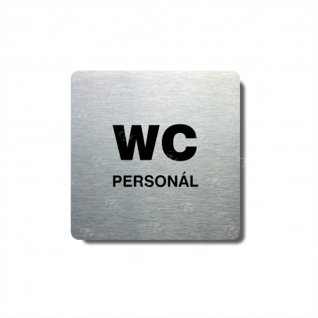 "Piktogram (80x80mm) ""WC personál"""