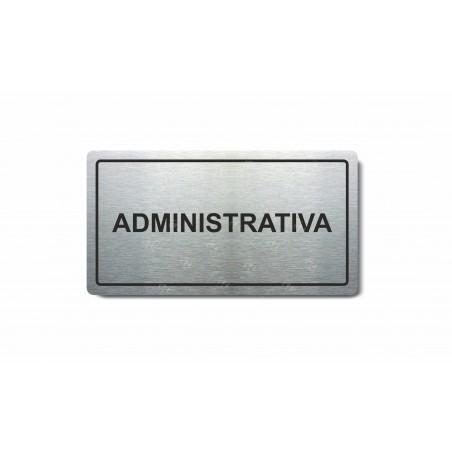 """Piktogram (80x150mm) """"Administrativa"""""""