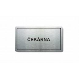 """Piktogram (80x150mm) """"Čekárna"""""""