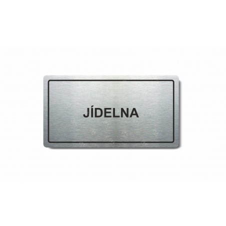 """Piktogram (80x150mm) """"Jídelna"""""""