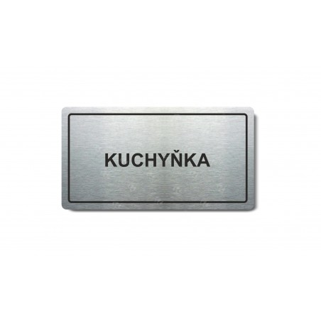 "Piktogram (80x150mm) ""Kuchyňka"""