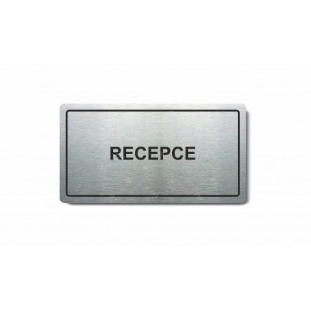 "Piktogram (80x150mm) ""Recepce"""