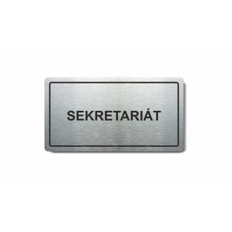 """Piktogram (80x150mm) """"Sekretariát"""""""