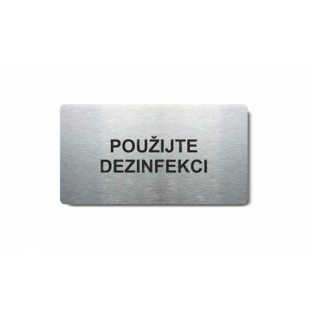"Piktogram (80x150mm) ""Použijte dezinfekci"""