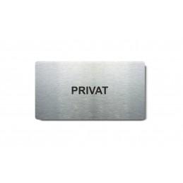 "Piktogram (80x150mm) ""Privat"""