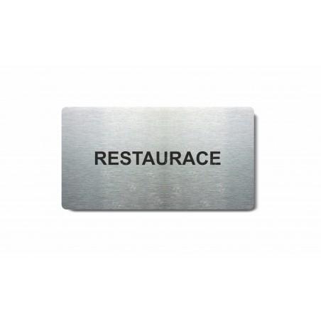 """Piktogram (80x150mm) """"Restaurace"""""""