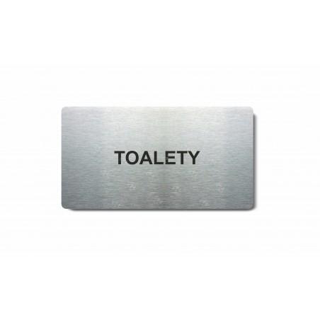 "Piktogram (80x150mm) ""Toalety"""