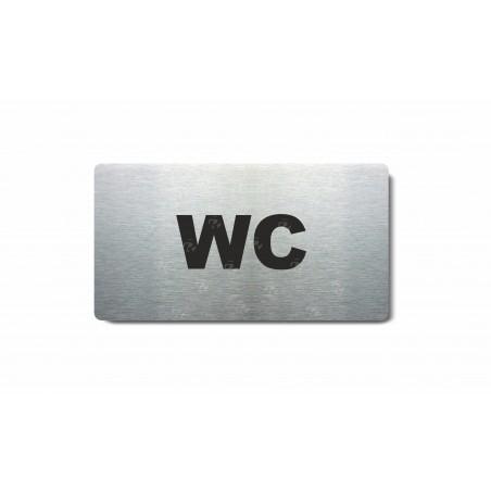 "Piktogram (80x150mm) ""WC"""