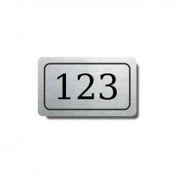 Číslo na dveře typ 01...