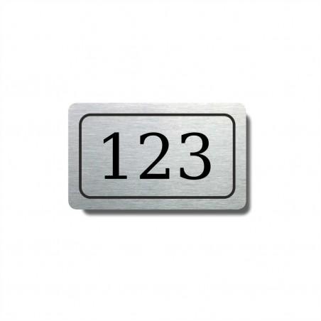 Číslo na dveře typ 01 (50x30mm)