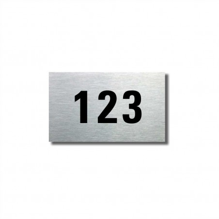 Číslo na dveře typ 10 (50x30mm)