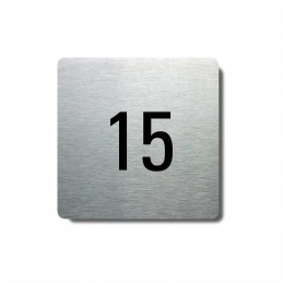 Číslo na dveře typ 12...