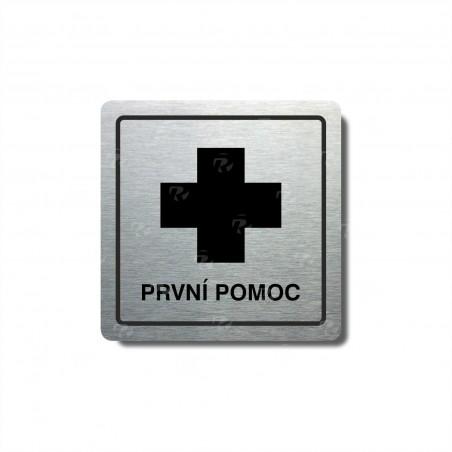 "Piktogram (80x80mm) ""První pomoc"""