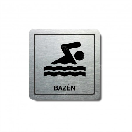 "Piktogram (80x80mm) ""Bazén II."""