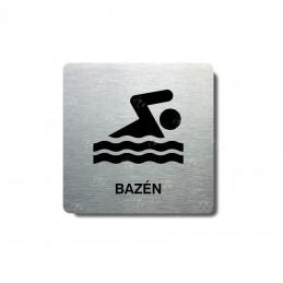 "Piktogram (80x80mm) ""Bazén..."