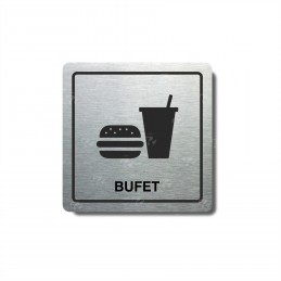 """Piktogram (80x80mm) """"Bufet..."""