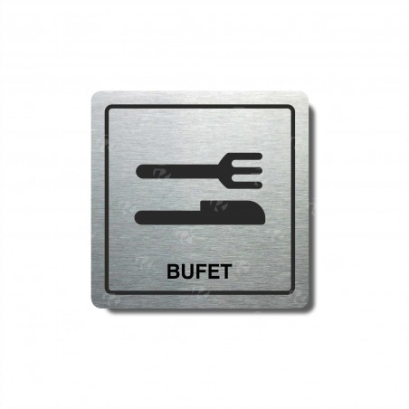"Piktogram (80x80mm) ""Bufet I."""