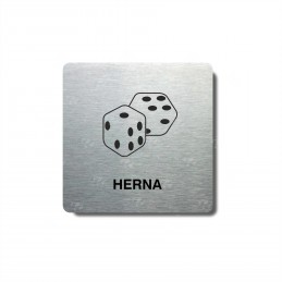 "Piktogram (80x80mm) ""Herna"""