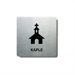 "Piktogram (80x80mm) ""Kaple"""