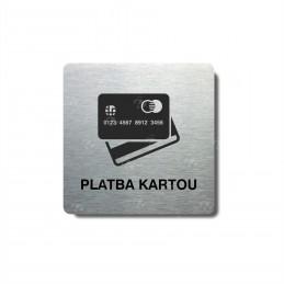 """Piktogram (80x80mm) """"Platba..."""