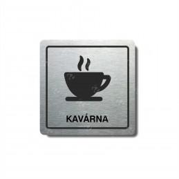 """Piktogram (80x80mm) """"Kavárna"""""""