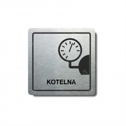 "Piktogram (80x80mm) ""Kotelna"""