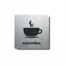 "Piktogram (80x80mm) ""Kuchyňka"""