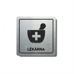 "Piktogram (80x80mm) ""Lékárna"""