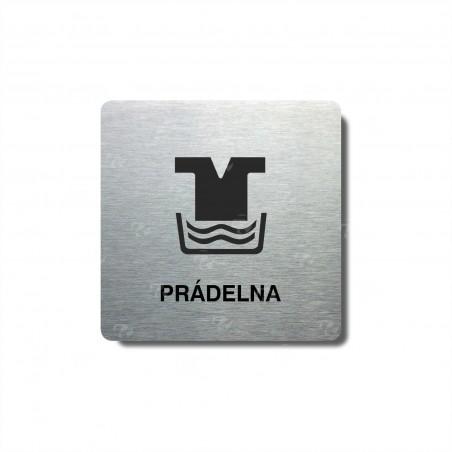 """Piktogram (80x80mm) """"Prádelna I."""""""
