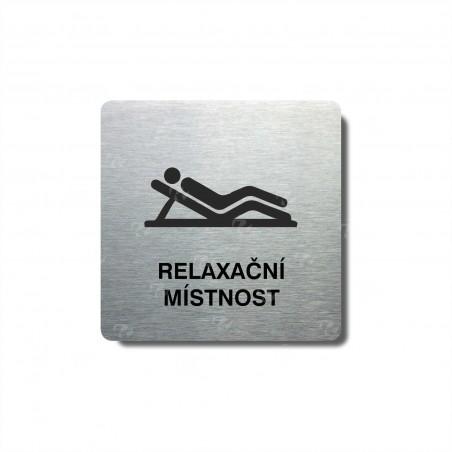 """Piktogram (80x80mm) """"Relaxační místnost"""""""
