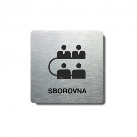 "Piktogram (80x80mm) ""Sborovna"""