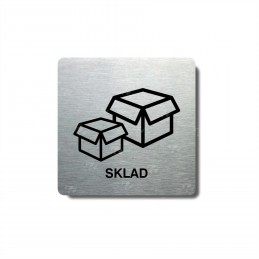 """Piktogram (80x80mm) """"Sklad I."""""""