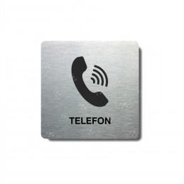 "Piktogram (80x80mm) ""Telefon"""