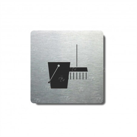 "Piktogram (80x80mm) ""Úklid II."""