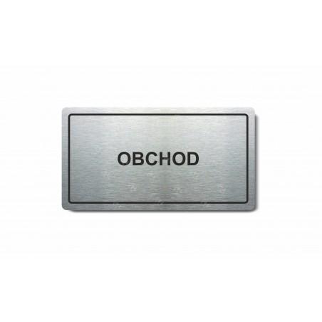 "Piktogram (80x150mm) ""Obchod"""