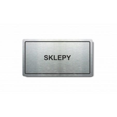 "Piktogram (80x150mm) ""Sklepy"""