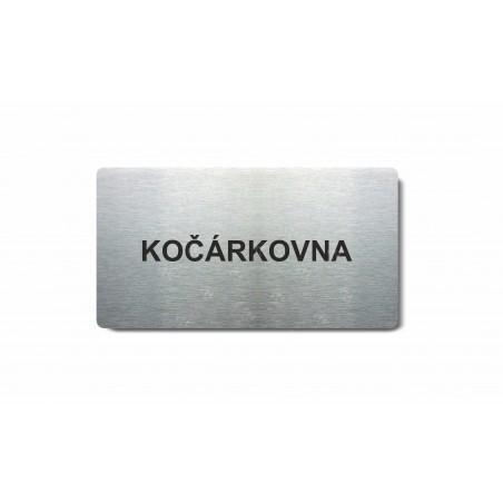 "Piktogram (80x150mm) ""Kočárkovna"""