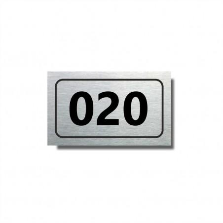 Číslo na dveře typ 06 (50x30mm)
