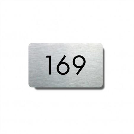Číslo na dveře typ 07 (50x30mm)
