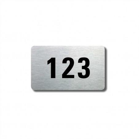 Číslo na dveře typ 09 (50x30mm)