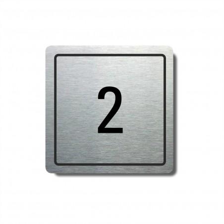 Číslo na dveře typ 11 (80x80mm)