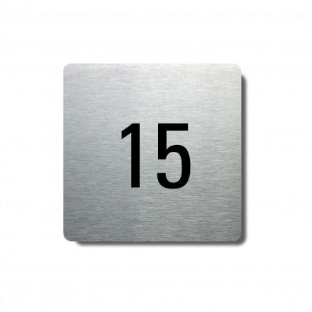 Číslo na dveře typ 12 (80x80mm)