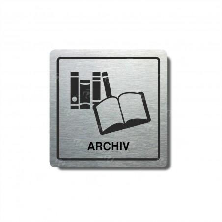 """Piktogram (80x80mm) """"Archiv II."""""""