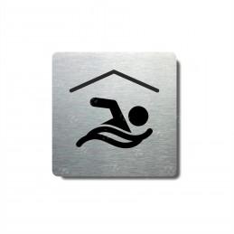 """Piktogram (80x80mm) """"Bazén I."""""""